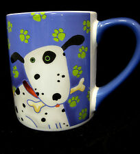 Debi Horn Mug Dogs Coffee Tea Cocoa Cup Container Colorful Breeds Design 2006