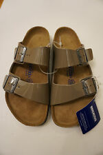 Unisex Men or Women Birkenstock taupe strap sandals size 37 Made in Germany