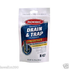 ROEBIC Drain & Trap Cleaner 16oz CONCENTRATE   K-67
