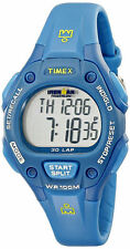 "Timex T5K757,  Women's ""Ironman"" 30-Lap Blue Watch, Alarm,  Indiglo, TK7579J"