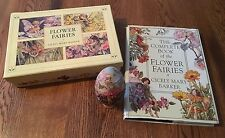 Flower Fairies Collectible Egg Hand Crafted In Russia With Book & Stationery