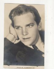 Douglas Fairbanks Jr Vintage Plain Back Photo Card Actor 572a