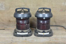 2x vintage port /starboard ships lamp old ship boat navigation  - FREE DELIVERY