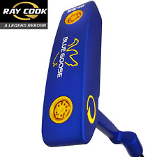 """ 50% OFF ""Ray Cook oca Blu Classic 34"" Putter + tiri & medie Grip"