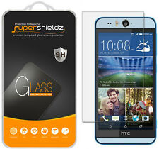 2X Supershieldz Tempered Glass Screen Protector Saver Shield For HTC Desire Eye