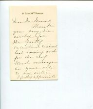 Margaret F.J. Wallace Church of Ireland Training College Signed Autograph ALS