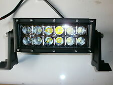 "Off Road LED Light Bar 6"" 36W 12V & 24V Combo Flood & Spot 2880 Lumen 2x6 LEDs"