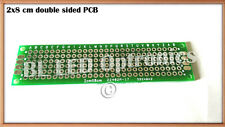 1x FR-4 PCB Printed Circuit Board 2x8 cm for Prototype LED DIY Project