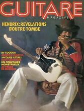 Guitare Magazine #3 HENDRIX : REVELATIONS D'OUTRE-TOMBE