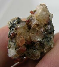 #4 Mexican Natural Terminated Topaz Crystal in Matrix Specimen 24.60ct or 4.90g