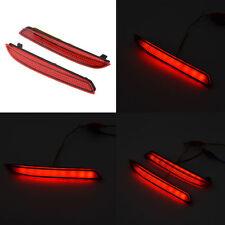 Car Rear Bumper Red Led Fog Brake Stop Light Lamp Warning For Toyota CAMRY-09