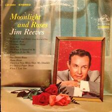 JIM REEVES Moonlight and Roses Vinyl LP VG++ Excellent 1964