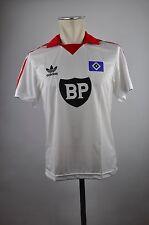 80er Jahre HSV Retro Trikot Gr. S Hamburg Adidas Originals BP weiß Jersey