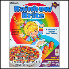 Fridge Fun Refrigerator Magnet RAINBOW BRITE BREAKFAST CEREAL 80s Retro
