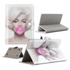 Housse Etui Tablette Polaroid - 9 Pouces - Design Marilyn Bubble