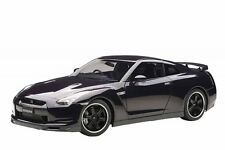 F/S AUTOart NISSAN GT-R R35 SPEC V ULTIMATE OPAL BLACK 1/12 Scale Model Car