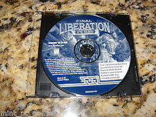 Final Liberation Warhammer Epic 40,000 (PC, 1997) Game
