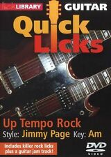 LICK LIBRARY Learn to Play QUICK LICKS JIMMY PAGE Up Tempo Rock Tutor GUITAR DVD