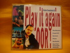 "JEWELCASE 3"" MINI CD PLAY IT AGAIN OOR ! PROMO THE SHAMEN FRONT 242 PIXIES etc"