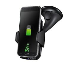 Qi Wireless Car Fast Charger Charging Stand Dock Pad Samsung Galaxy S7/S7 Edge