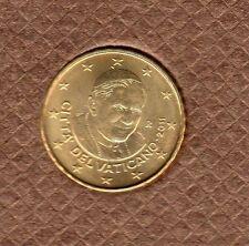 Vatican 2011 - 10 Centimes D'Euro - 94 000 exemplaires Provenant du BU RARE