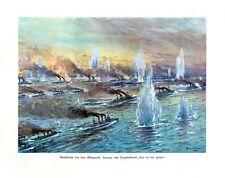 Seeschlacht vor dem Skagerrak Kreuzer und Torpedoboote DEUTSCHE FLOTTE STÖWER 52
