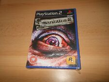 NEW, SEALED - Manhunt 2 - Sony Playstation 2 (PS2) -