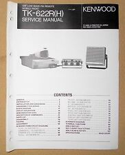 * 1 Original Kenwood TK-622R(H) FM Remote Mobile Radio SERVICE MANUAL