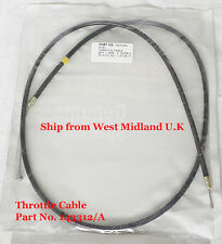 MOTORCYCLE BIKE SPARE PART BULLET ROYAL ENFIELD 4 SPEED THROTTLE CABLE 143312 /A