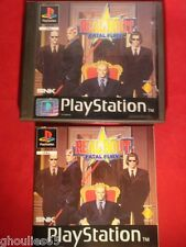 REAL BOUT FATAL FURY PLAYSTATION 1 REAL BOUT FATAL FURY PS1 PS2 PS3