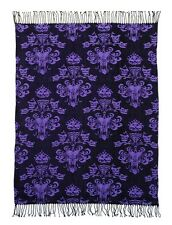 DISNEY PARKS HAUNTED MANSION THROW - BLANKET/TAPESTRY/HITCHHIKING GHOST/LEOTA