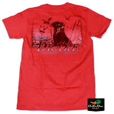 NEW DRAKE WATERFOWL SOUTHERN COLLECTION SOUTHERN LAB S/S T-SHIRT RED XL