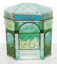 IAN LOGAN 1981 Bentley's EVANS DAIRY NESTLE'S MILK Tin Box Container Canister #2