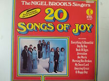 LP THE NIGEL BROOKS SINGERS 20 songs of joy K-Tel
