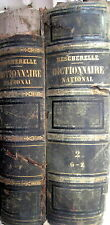 Dictionnaire national  de la langue francaise 1858 M. Bescherelle 2 Bände