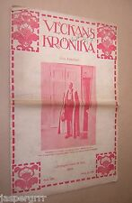VECKANS KRONIKA. OCTOBER 1919. SWEDISH MAGAZINE. FINLAND. SCANDINAVIA.