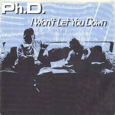 "Ph.D. I Won't Let You Down WEA 79209 Vinyl 7"" Single 1981 Very Good Conditions"