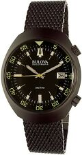 Bulova Men's Accutron Ii Lobster 98B247 Black Stainless-Steel Quartz Watch