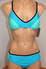 NWT Hobie swimsuit bikini 2pc set Sz S AZL Cross Back Bra