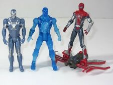 Marvel Universe Toy Figura Set Electro Vs Spider-man & Iron Man