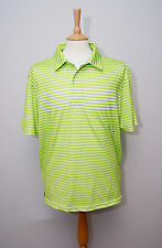 "Tommy Hilfiger Golf short sleeve lime green sports polo shirt XL 44"" 112cm"