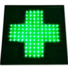 Green Cross Medical Marijuana LED Store Sign weed Dispensary shop reefer He