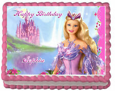 Barbie Premium Frosting Sheet Edible Cake Topper