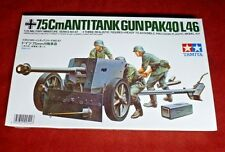 NIB TAMIYA 1:35 Scale GERMAN 7.5 Cm ANTI-TANK GUN (PAK40/L46) FREE SHIPPING!