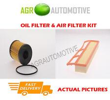 DIESEL SERVICE KIT OIL AIR FILTER FOR FIAT PUNTO 1.3 69 BHP 2003-