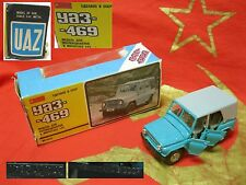 Vintage Legendary Car model UAZ-469 1:43 A34 metal diecast made in USSR Soviet