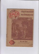 Original 1949 Zack  Nummer 1  Kriminalroman