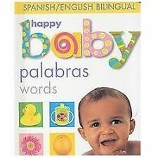 Happy Baby Words Bilingual (Soft to Touch) (Spanish Edition)
