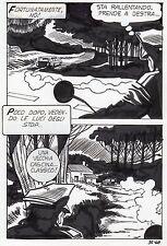 LE MONSTRE  PLANCHE ORIGINALE ELVIFRANCE PAGE 68