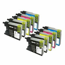 10pk LC75 LC-75 Ink Set for Brother LC71 MFC-J280W MFC-J425W MFC-J430W MFC-J435W